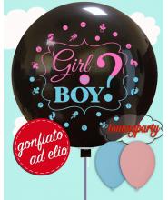 """Palloncino 36""""/cm.90 Boy or Girl ad elio"""
