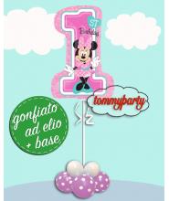 "Minnie 1ST Birthday composizione Supershape (35"")"