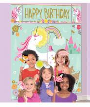 """Scenario Unicorno H.Birthday """"Magical Unicorn"""" 1.82mt"""