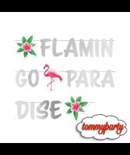 Festone Fenicottero Flamingo Paradise 1,35 mt