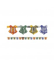 Festone Happy Birthday Harry Potter 1pz