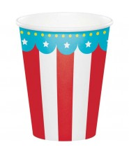 """Bicchiere Circo """"Circus Party"""" 8 pz"""