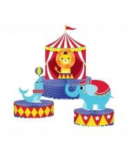 """Centrotavola Circo """"Circus Party"""" 3 pz"""
