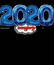 Composizione 2019 numerone Mylar cm.100 palloncino