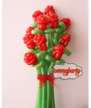 Mazzo di Rose con modellabile da 11 fiori