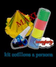 Kit cotillons per 1 persona Maxi
