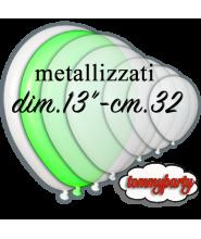 Palloncino 14 pollici cm.35 metallizzato pz.100
