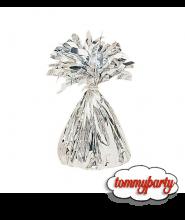 Pesetto ciuffo in foil argento pz.1