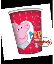 Peppe Pig 8 Bicchieri