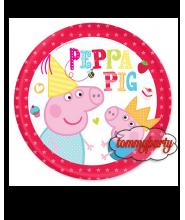 Peppe Pig 8 piatti cm. 23