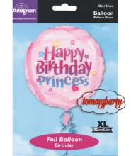 "Happy Birthday Princess S40 18"" palloncino"
