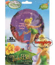 """Tinker Bell h.bday wishes 18"""" palloncino"""