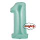 Numerone 1 Mylar cm.100 palloncino