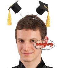 Cerchietto c/cappellini laureato