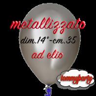 Palloncini Metallizzati gonfiati ad elio