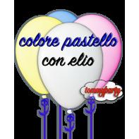 Palloncini pastello gonfiati ad elio