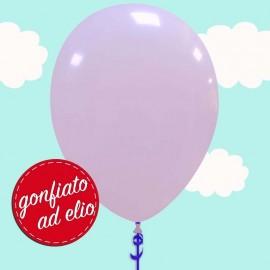 palloncino lilla pastello gonfiato ad elio