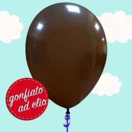 palloncino marrone pastello ad elio