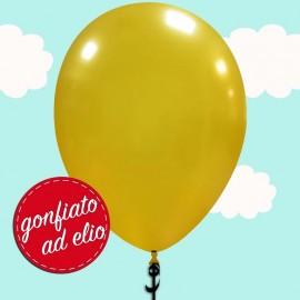 palloncino oro metallizzato ad elio