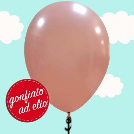 palloncino rosa gold ad elio