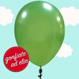 """Palloncino 13"""" Verde chiaro metallizzato ad elio"""