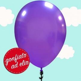 palloncino ad elio viola metallizzato