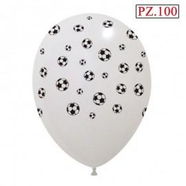 """Palloncino Palloni di calcio 12"""" pz.100"""