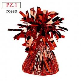 Pesetto Rosso in foil per palloncini pz.1