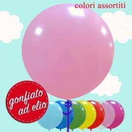 "Palloncino 19"" rosa pastello ad elio"
