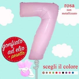 numero 7 rosa maxi ad elio