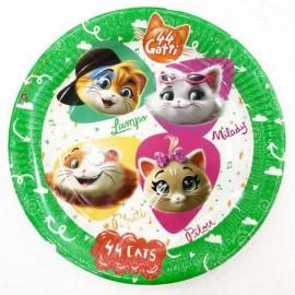 piatto 44 gatti