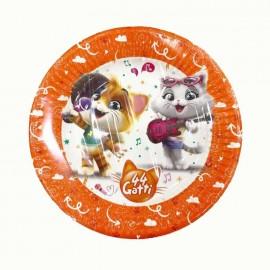 piatto piccolo 44 gatti
