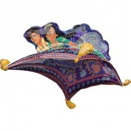 palloncino di Aladin e Jasmine tappeto