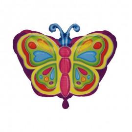 palloncino forma farfalla colorata