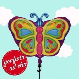 palloncino farfalla gonfiato ad elio