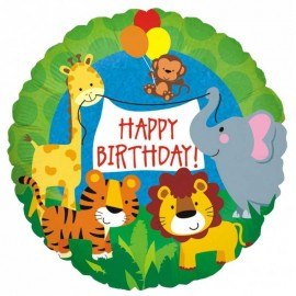 palloncino compleanno nella giungla 18
