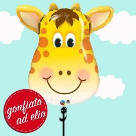 palloncino ad elio viso Giraffa