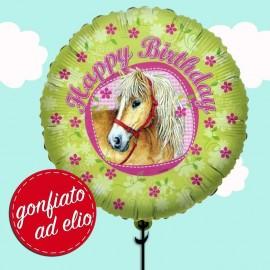 palloncino cavallo happy birthday ad elio