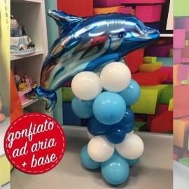 composizione palloncino delfino festa