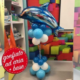 composizione festa delfino palloncino