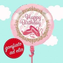 palloncino ad elio tema scarpette ballerina
