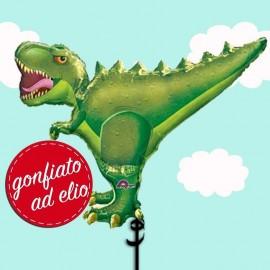 t-rex palloncino ad elio