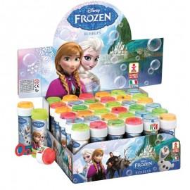 bolle di sapone frozen elsa