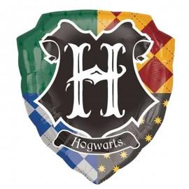 scudo di Hogwarts palloncino