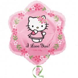 hello kitty palloncino love