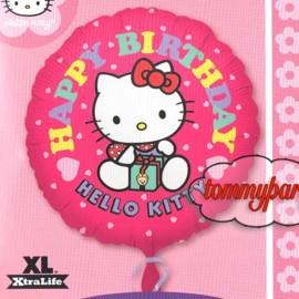 palloncino hello kitty happy birthday