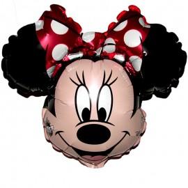 palloncino minnie mouse fiocco rosso