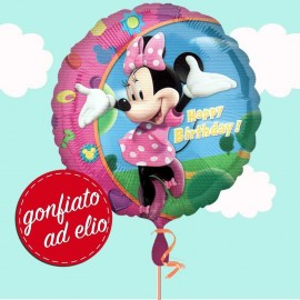 palloncino minnie happy birthday ad elio