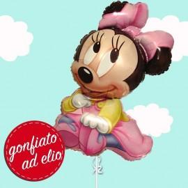 palloncino di Baby Minnie gonfiato ad elio