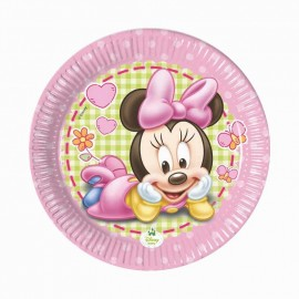 baby minnie piatti piccoli torta